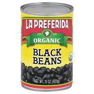 La Preferida, Bean Black Org, 15 Oz, (Pack Of 12)
