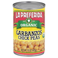 La Preferida, Bean Chick Pea Org, 15 Oz, (Pack Of 12)
