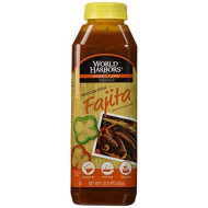 World Harbors, Sauce Guadalupe Fajita, 16 Oz, (Pack Of 6)