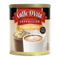 Caffe D Vita, Cappuccino Engl Toffee, 16 Oz, (Pack Of 6)