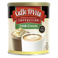 Caffe D Vita, Cappuccino Irish Cream, 16 Oz, (Pack Of 6)