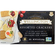 Wellington, Cracker Biscuit Astd, 8.8 Oz, (Pack Of 12)