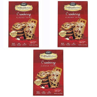 Nonnis, Biscotti Crnbry Almd Thns, 4.44 Oz, (Pack Of 6)