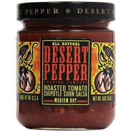 Desert Pepper, Salsa Rstd Tmo Chipotle, 16 Oz, (Pack Of 6)