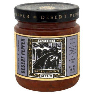 Desert Pepper, Salsa Divino Mild, 16 Oz, (Pack Of 6)