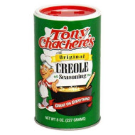 Tony Chacheres, Ssnng Creole, 8 Oz, (Pack Of 6)