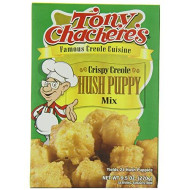Tony Chacheres, Mix Hush Puppy Creole, 9.5 Oz, (Pack Of 12)