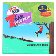 Clif Kid, Zbar 5Ct Prtn Choc Mint, 6.35 Oz, (Pack Of 6)