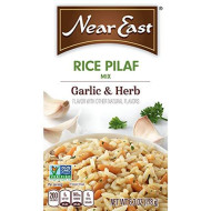 Near East, Rice Mix Pilaf Garlic & H, 6.3 Oz, (Pack Of 12)