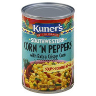 KUNERS, CORN & PEPPERS, 15 OZ, (Pack of 12)