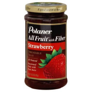 Polaner, Fruit Spread Strwbry, 15.25 Oz, (Pack Of 12)