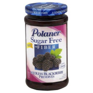Polaner, Preserve Sf Blackbry, 13.5 Oz, (Pack Of 12)