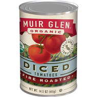 Muir Glen, Tomato Rstd Dice, 14.5 Oz, (Pack Of 12)