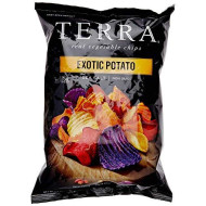 Terra Chips, Chip Exot Pto Seaslt, 5.5 Oz, (Pack Of 12)
