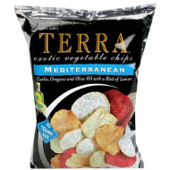 Terra Chips, Chip Exot Veg Mediterranean, 6.8 Oz, (Pack Of 12)