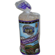 Lundberg, Thin Stackr Brown Rice, 5.9 Oz, (Pack Of 12)