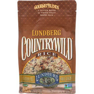 Lundberg, Rice Cntry Wild Gf, 16 Oz, (Pack Of 6)