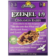 Food For Life, Cereal Ezkl Cinn Raisin O, 16 Oz, (Pack Of 6)
