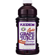 Kedem, Juice Concord Lite Grape, 64 Oz, (Pack Of 8)