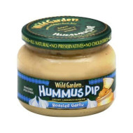Wild Garden, Hummus Dip Rstd Garlic, 10.74 Oz, (Pack Of 6)