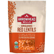 Arrowhead Mills, Bean Lentil Red, 16 Oz, (Pack Of 6)