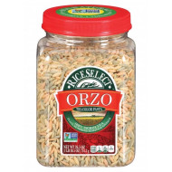 Riceselect, Orzo Tri Clr, 26.5 Oz, (Pack Of 4)