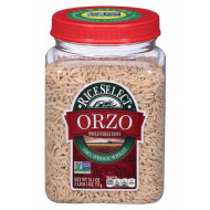 Riceselect, Orzo Whl Wht, 26.5 Oz, (Pack Of 4)