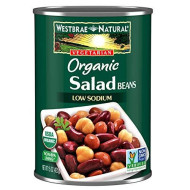 Westbrae, Bean Salad Lf Org, 15 Oz, (Pack Of 6)