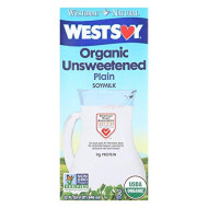 Westsoy, Soymilk Unswt Org, 32 Fo, (Pack Of 12)