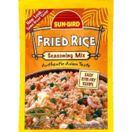 Sunbird, Mix Ssnng Fried Rice, 0.74 Oz, (Pack Of 24)