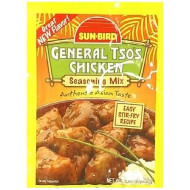 Sunbird, Mix Ssnng General Tso Chk, 1.14 Oz, (Pack Of 24)
