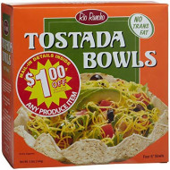 Rio Rancho, Tostada Bowl 4Ct, 5 Oz, (Pack Of 6)