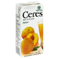 Ceres, Juice Peach, 33.8 Fo, (Pack Of 12)