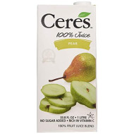 Ceres, Juice Pear, 33.8 Fo, (Pack Of 12)
