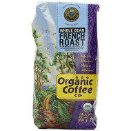 Organic Coffee Co, Coffee Bean Ft French Org, 12 Oz, (Pack Of 6)