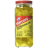 Marconi, Pepperoncini Imported, 16 Oz, (Pack Of 12)