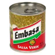 Embasa, Salsa Verde Green Medium, 7 Oz, (Pack Of 12)