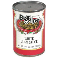 Dell Alpe, Sauce Clam White, 10.5 Oz, (Pack Of 12)