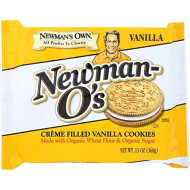 Newmans Own Organic, Cookie Vanilla Creme, 13 Oz, (Pack Of 6)