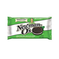 Newmans Own Organic, Cookie O Mint Creme, 8 Oz, (Pack Of 6)