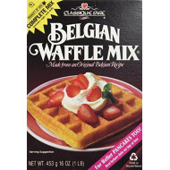 Classique Fare, Mix Waffle Belgian, 16 Oz, (Pack Of 6)