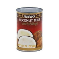 Sun Luck, Coconut Milk, 13.5 Oz, (Pack Of 12)