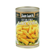 Sun Luck, Corn Baby Stir Fry, 15 Oz, (Pack Of 6)