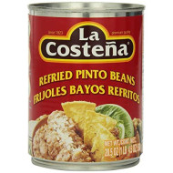 La Costena, Bean Refrd Pinto, 20.5 Oz, (Pack Of 12)