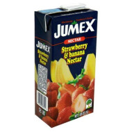 Jumex, Juice Tetra Strwbry Bnnna, 33.81 Oz, (Pack Of 12)