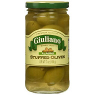 Giuliano, Olive Stfd Almond, 7 Oz, (Pack Of 6)
