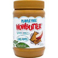Wowbutter, Peanut Free 100% Crmy, 17.6 Oz, (Pack Of 6)