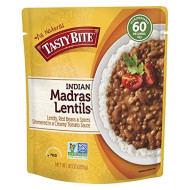 Tasty Bite, Entree Madras Lentil, 10 Oz, (Pack Of 6)