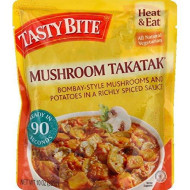 Tasty Bite, Entree Mshroom Masala, 10 Oz, (Pack Of 6)