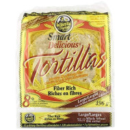 La Tortilla Factory, Tortilla Flour Whlwht Lrg, 17.5 Oz, (Pack Of 10)